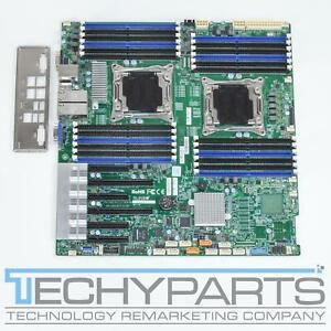 Supermicro X10DRI-T4+ Dual XEON LGA2011-v3 4x10GbE LAN EE-ATX Motherboard