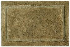 Brown Bath Rug Organic Mat Soft Cotton Non Slip Floor Piece New Bathroom Design