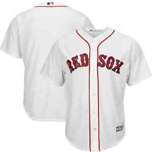 Boston Red Sox MLB Stitched Blank Jersey Majestic Cool Base