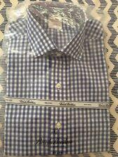 NWT RARE BROOKS BROTHERS ENGLISH SPREAD COLLAR GINGHAM DRESS SHIRT 15x33