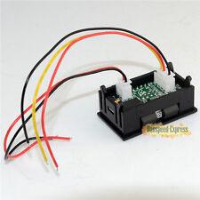 DC 100V 0-999mA Dual LED Digital Display Ammeter Voltmeter Panel Amp Volt Gauge
