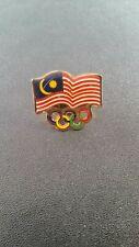 Olympic Pin: Malaysia Olympic NOC Pin 2016 Malaysia Olympic Pin Rio Olympic Pin