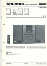 Grundig Service guía manual m 26 b474