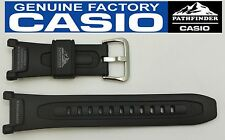 CASIO Pathfinder Pro-Trek PAG-240 18mm Original Black Rubber Watch BAND PAG-40