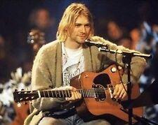 Nirvana Kurt Cobain #1 10x8 Photo