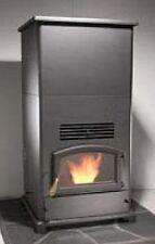 Jumbo Wood Pellet Stove Furnace,55,000 BTU, 350lb Hopper Bin