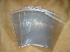 100 Stk. Klarsichthüllen Kartenhüllen Tüten DIN A6 C6  B6 Postkarten Autogramme
