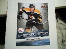 11-12 UD ULTIMATE TEAM INSERT CARD #8  MILAN LUCIC