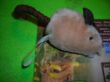 PLUSH BABY MOUS w/ Electronic Real Mouse Squeak Cat Toy