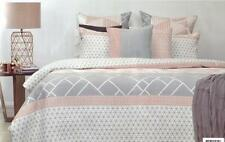 Unbranded Geometric 100% Cotton Quilt Covers