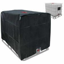 Abdeckhaube Schwarz Für Regenwassertank 1000 Liter IBC-Behälterfolie DE
