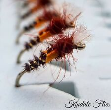 Lightweight Pheasant Tail / Gold Buzzers size 12 (Set of 3) Fly Fishing Flies