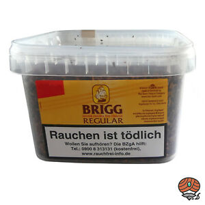Brigg Regular Pfeifentabak (Golden Virginia Tabak) im 400 g Eimer