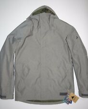 New 2018 Burton Mens HilItop Insulated Hooded Full Zip Ski Snowboard Jacket L