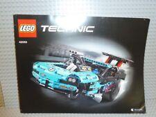 LEGO® Technic Bauanleitung 42050 Drag Racer instruction NEU