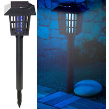 Royal Gardineer 2in1-Solar-LED-Gartenlicht & Insekten-Vernichter, 1 UV-LED, IPX4