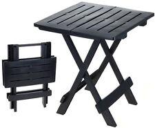 """Kunstoff Klapptisch """"ADIGE"""" - kleiner Beistelltisch Gartentisch Tisch Camping"""