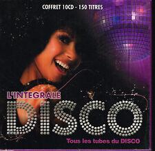 CD Album: l'intégrale disco: coffret 10 cds. playon. B1