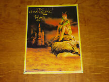 TOYAH - THE CHANGELING - OFFICIAL TOUR PROGRAMME             (PROMO) -