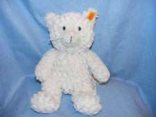Steiff Chat Whiskers Soft Plush Toy anniversaire baptême Coffret Cadeau Neuf 099281