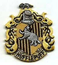 HARRY POTTER HOUSE OF HUFFLEPUFF SCARF CREST APPLIQUE