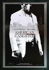 AMERICAN GANGSTER * CineMasterpieces 1SH ORIGINAL MOVIE POSTER RUSSELL CROWE