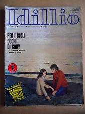 IDILLIO n°128 1973 con Poster Claudia Rivelli  ed. Lancio  [G577]