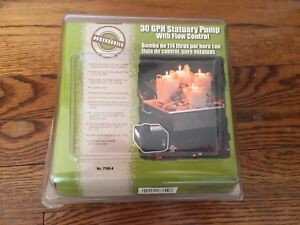 Little Giant PSM-A 30 GPH Statuary Pump with flow control