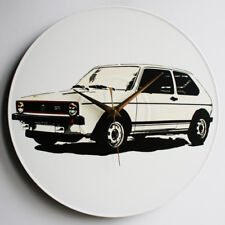 "Mk1 Golf Gti series 1 12"" LP Vinyl Record Clock, Pop Art, Canvas, vw happich, s1"