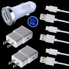 Car Wall Charger USB Cable for Motorola Moto Z2 Force Z Play Droid Huawei P10 P9