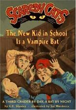 The New Kid in School Is a Vampire Bat (Scaredy Cats)-ExLibrary
