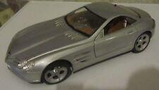 Modellino Maisto Mercedes Benz Vision SLR Silver Argento 1:18