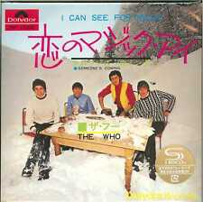 THE WHO-I CAN SEE FOR MILES / SOMEONE'S...-JAPAN 7INCH MINI LP SHM-CD Ltd/Ed D73