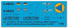 Peddinghaus 2006 1/48 Bo 105s el aleman Rescate del aire D-HBGS Christoph 8