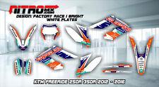NitroMX Graphic Kit for KTM FREERIDE 250 350 2012 2013 2014 2015 2016 2017 2018