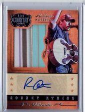 Rodney Atkins 2014 Panini Country Music AM Auto/Autograph Shirt Card /25