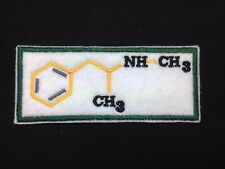 Breaking Bad Formula Embroidered Patch Badge Iron on or Sew On