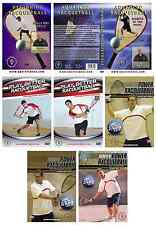 Racquetball Instructional Dvds - 7 for $70 Sale - Gift for players and coaches