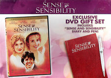 SENSE AND SENSIBILITY - DVD GIFT SET (with DIARY & PEN) REGION 1 - NEW SEALED