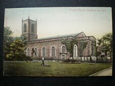 Stockton-on-Tees Parish Church Co. Durham Postcard