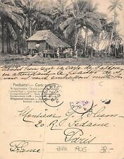 Pilipinas Greetings from Philippines Visayan home Negros YEAR 1906 RARE(S-L 129)