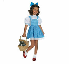 Licenced Child Wizard Of Oz Deluxe Dorothy Fancy Dress Costume girls age 5 - 7