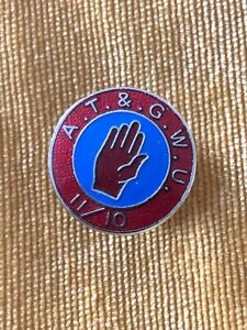 Trade Union badge ATGWU Transport General Workers 11/10