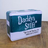 Daddys Stuff Tin - Fathers Day Not To Be Touched By Mummies Children