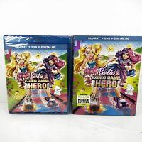 Barbie Video Game Hero (Blu-ray/DVD, 2017, Inc Digital Copy) Nee/Sealed