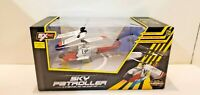 Remote Control, Sky Patroller RC Helicopter 3 Channel - Silver & Red~Ships Free