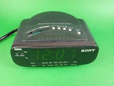 Sony Dream Machine Fm Am Clock Radio Alarm Model ICF-C212