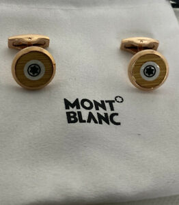 Montblanc  Floating Star Emblem Cufflinks rose  gold Colour