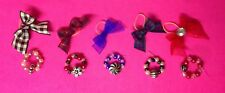 Accessories Lps Littlest Pet Shop 10 items: 5 bows 5 necklaces Lps not included