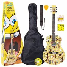 Spongebob Squarepants Steel String Acoustic Guitar Pack Standard Set up P H